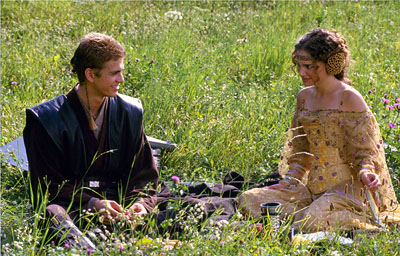 Anakin and Natalie Portman