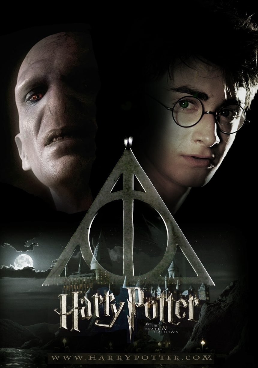 Harry Potter Book Poster : Harry potter and the deathly hallows trailer elementary