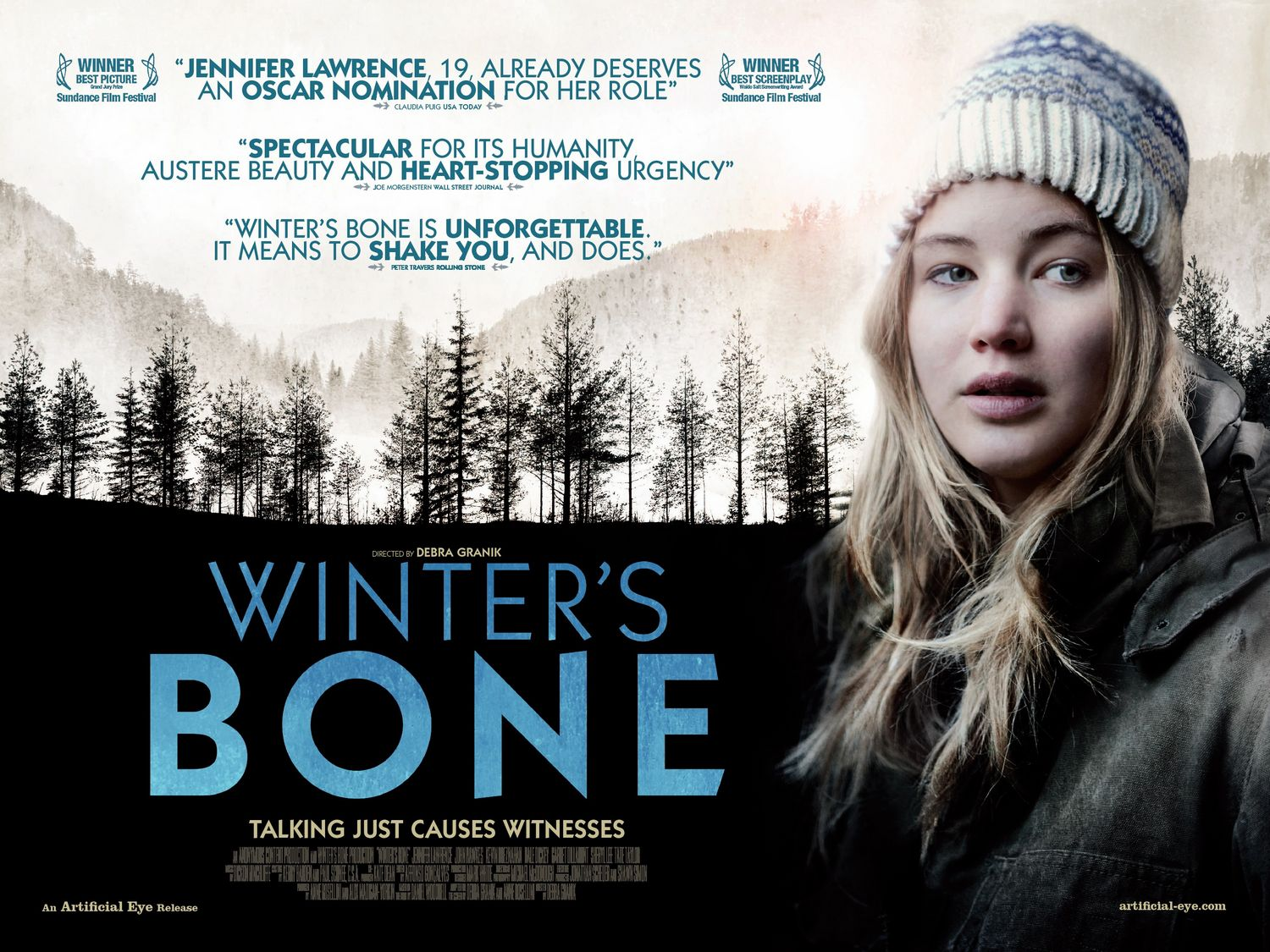 winters bone film Rent winter's bone and other new dvd releases and blu-ray discs from your nearest redbox location or reserve your copy of winter's bone online and grab it later.